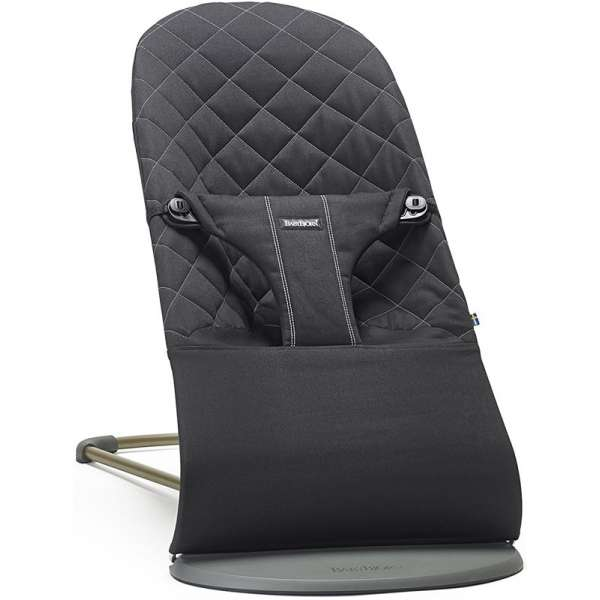 BabyBjorn Bouncer Bliss Black Bērnu šūpuļkrēsls 006016