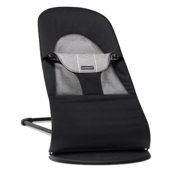 BabyBjorn Bouncer Balance Soft Bērnu šūpuļkrēsls, Black/Granite, Cotton/Jersy
