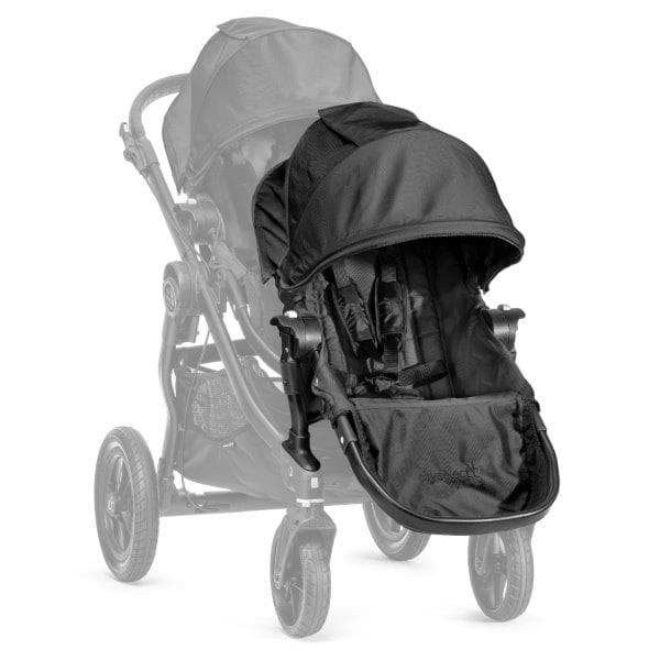 Baby Jogger Black sežama daļa City select ratiem