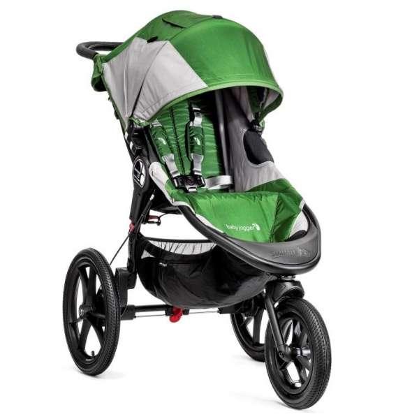 Baby Jogger Summit X3 Green/Gray Bērnu sporta rati