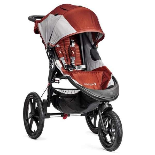 Baby Jogger Summit X3 Orange/Gray Bērnu sporta rati