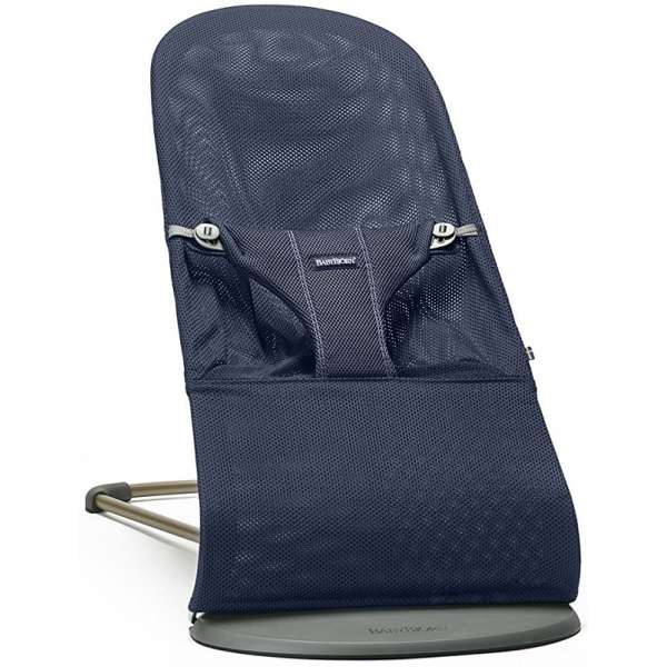 BabyBjorn Bouncer Bliss Navy Blue Mesh Bērnu šūpuļkrēsls 006003