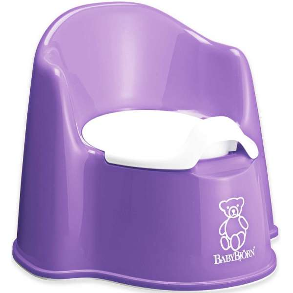 BabyBjorn Potty Chair Purple Bērnu podiņš
