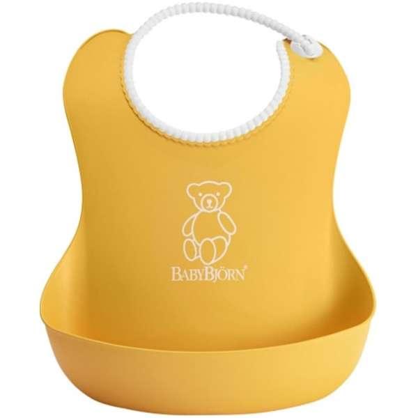 BabyBjorn Mīksts priekšautiņš Soft Bib Yellow