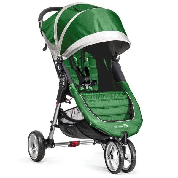 Baby Jogger City mini Evergreen/Gray Bērnu rati
