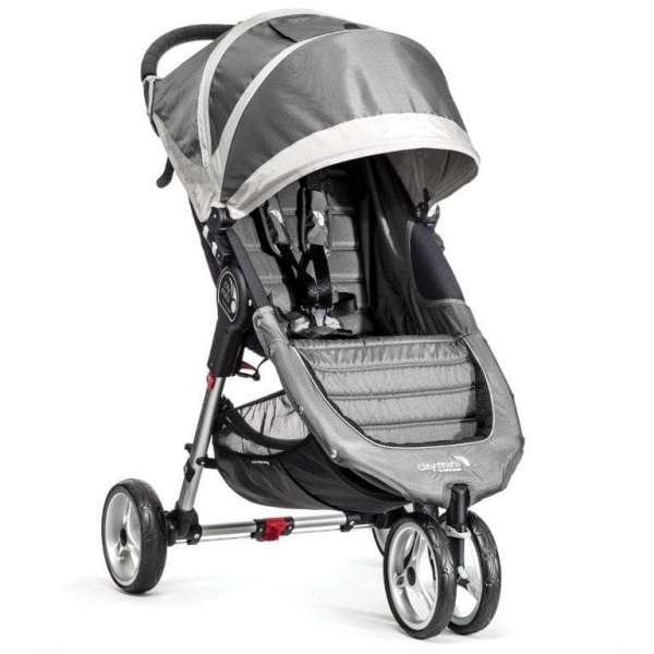 Baby Jogger City mini Steel/Gray Bērnu rati