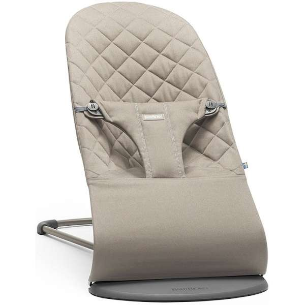 BabyBjorn Bouncer Bliss Sand grey Bērnu šūpuļkrēsls, 006017