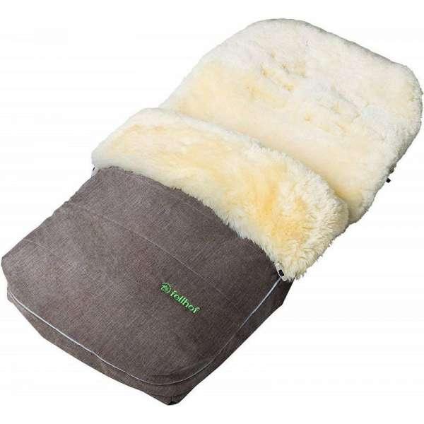 Fellhof Garmisch Beige Melange Guļammaiss ar aitas vilnas oderi