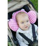 Benbat Bear Hug Bērnu ceļojuma spilvens Pink BH102