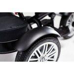 Bentley Trike Bērnu trīsritenis 6 vienā ar piepūšamiem riteņiem Onyx Black BN1O