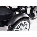Bentley Trike Bērnu trīsritenis 6 vienā ar piepūšamiem riteņiem White Satin BN1BR