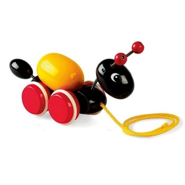 Brio Ant with Rolling Egg Koka velkamā rotaļlieta 30367