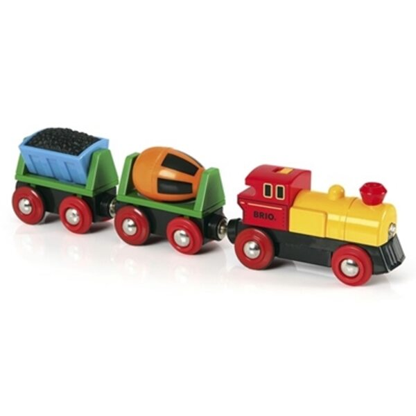 Brio Battery Operated Action Train Kravas vilciens ar baterijām 33319