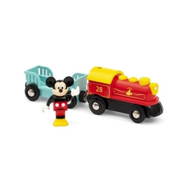 Brio Battery Operated Mickey Mouse Train Vilciens ar baterijām 32265