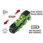 Brio Big Green Action Locomotive Lokomotīve 33593