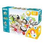 Brio Builder Light Set 120 pcs. Būvniecības komplekts 34593