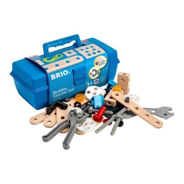 Brio Builder Starter Set 49 pcs. Būvniecības komplekts 34586