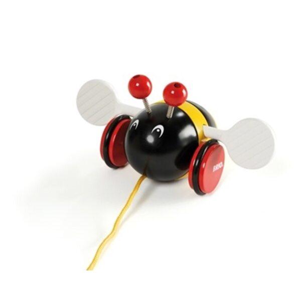 Brio Bumblebee Koka velkamā rotaļlieta 30165