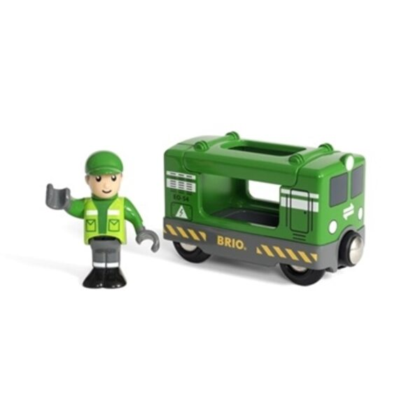 Brio Cargo Engine with Driver Kravas vagons 33894