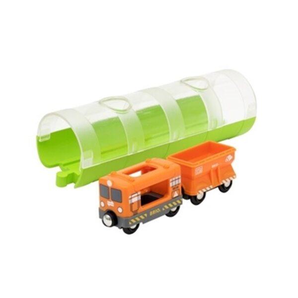 Brio Cargo Train and Tunnel Vilciens 33891