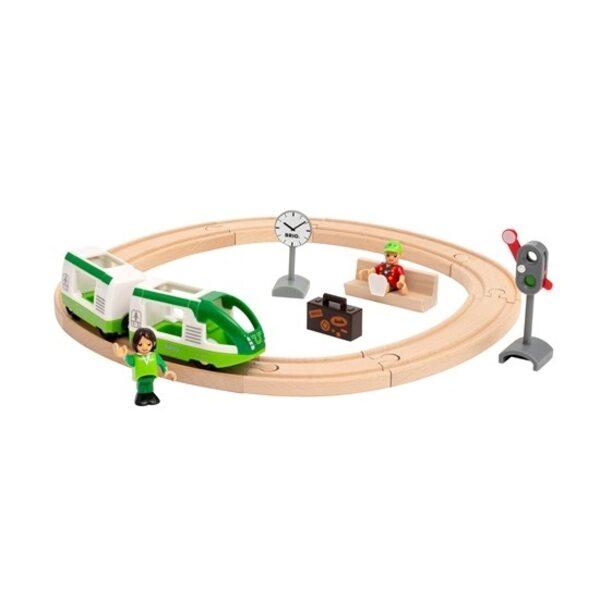 Brio Circle Train Set Koka dzelzceļš 33847