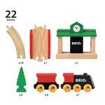 Brio Classic Figure 8 Set Koka dzelzceļš 33028