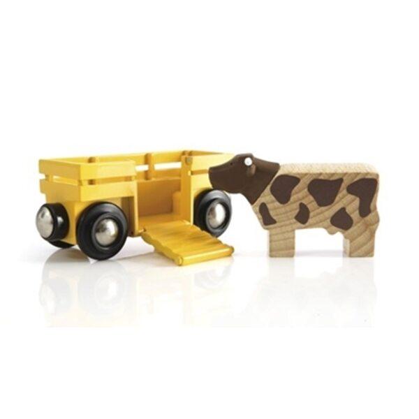 Brio Cow and Wagon Vagons 33406