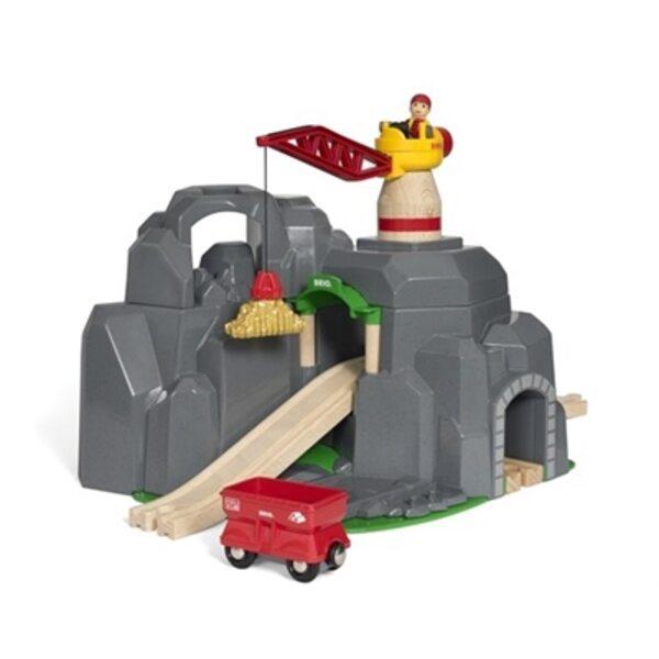 Brio Crane and Mountain Tunnel Tunelis 33889