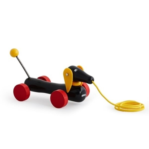 Brio Dachshund Koka velkamā rotaļlieta 30332