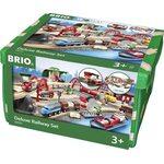 Brio Deluxe Railway Set Koka dzelzceļš 33052