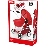 Brio Doll Pram Spin Leļļu ratiņi 24900000