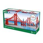 Brio Double Suspension Bridge Tilts 33683