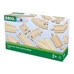 Brio Expansion Pack Intermediate Koka dzelzceļa posmi 33402