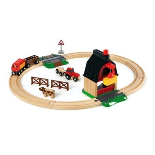Brio Farm Railway Set Koka dzelzceļš 33719