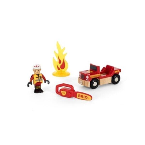 Brio Firefighter Spēļu komplekts 33876