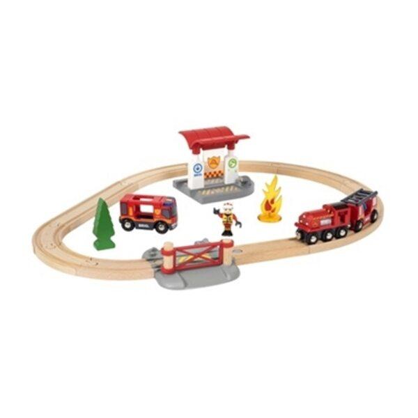 Brio Firefighter Set Koka dzelzceļš 33815