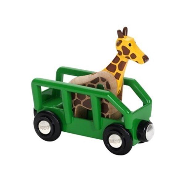 Brio Giraffe and Wagon Vagons 33724