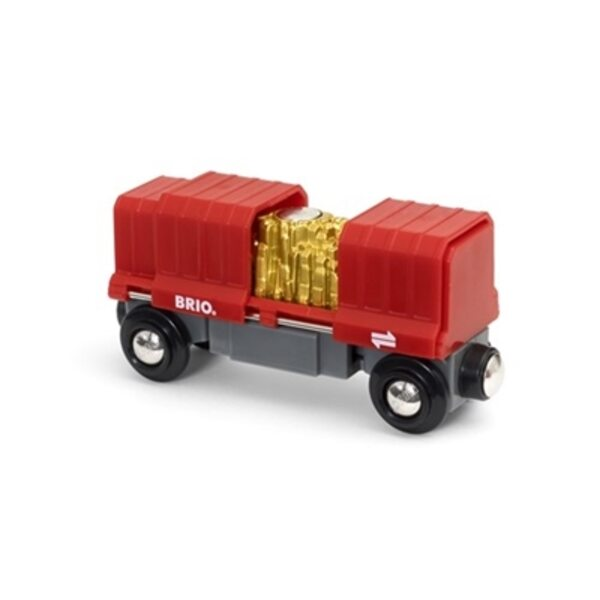 Brio Gold Load Cargo Wagon Kravas vagons 33938