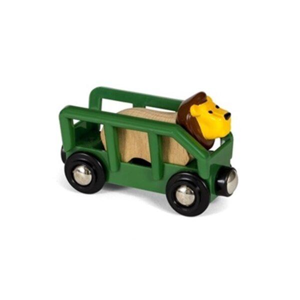 Brio Lion and Wagon Vagons 33966