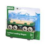 Brio Lumber Loading Wagon Kravas vagons 33696