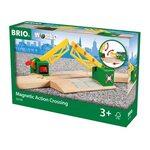 Brio Magnetic Action Crossing Dzelzceļa pārbrauktuve 33750