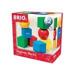 Brio Magnetic Blocks Magnētiskie koka kluči 30123