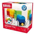 Brio Magnetic Train Magnētiskie koka kluči 30245