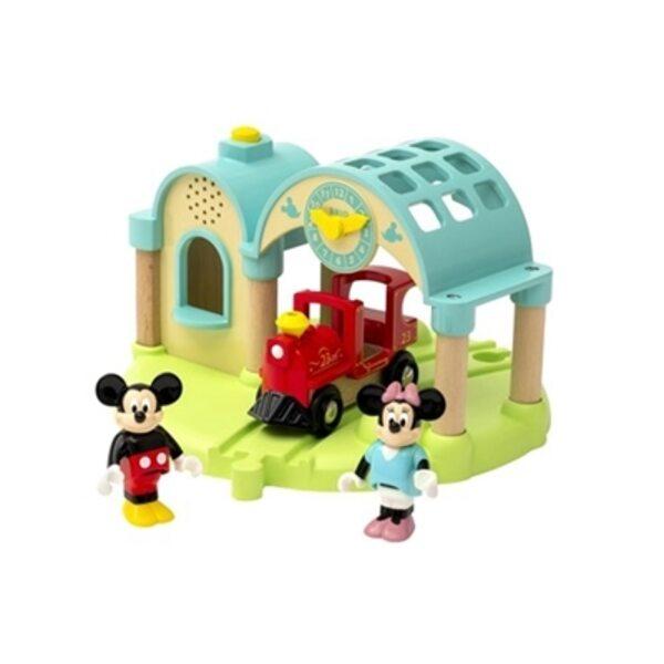 Brio Mickey Mouse Record and Play Station Dzelzceļa stacija 32270
