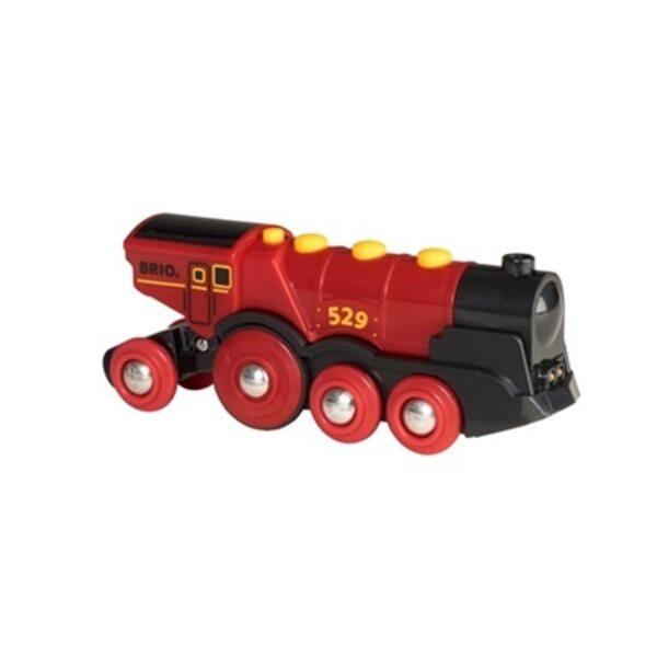 Brio Mighty Red Action Locomotive Lokomotīve 33592