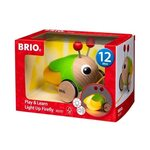 Brio Play and Learn Light Up Firefly Koka velkamā rotaļlieta 30255