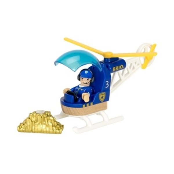 Brio Police Helicopter Policijas helikopters 33828