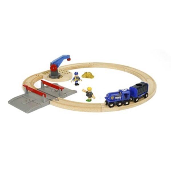 Brio Police Transport Set Koka dzelzceļš 33812