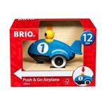 Brio Push and Go Airplane Inerciāla lidmašīna 30264