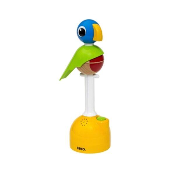 Brio Record and Play Parrot Interaktīvā rotaļlieta 30262